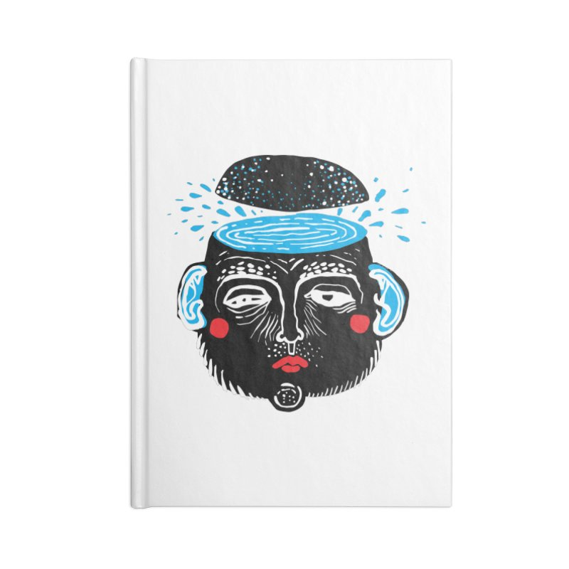 Puddle Accessories Blank Journal Notebook by Snezana Pupovic SNEP