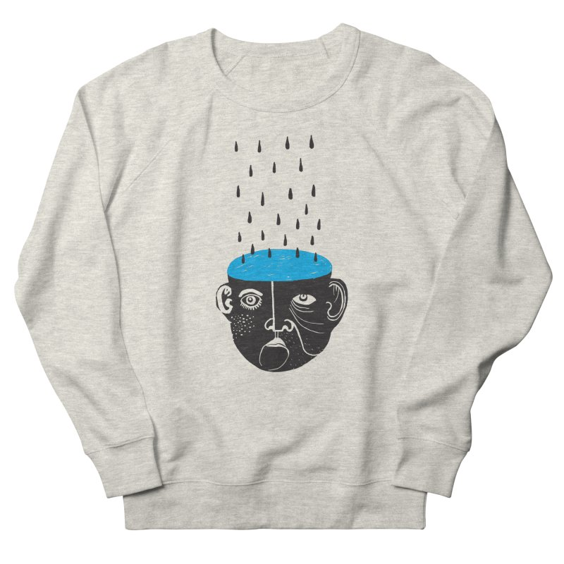 Rainy Brain Men's Sweatshirt by Snezana Pupovic SNEP
