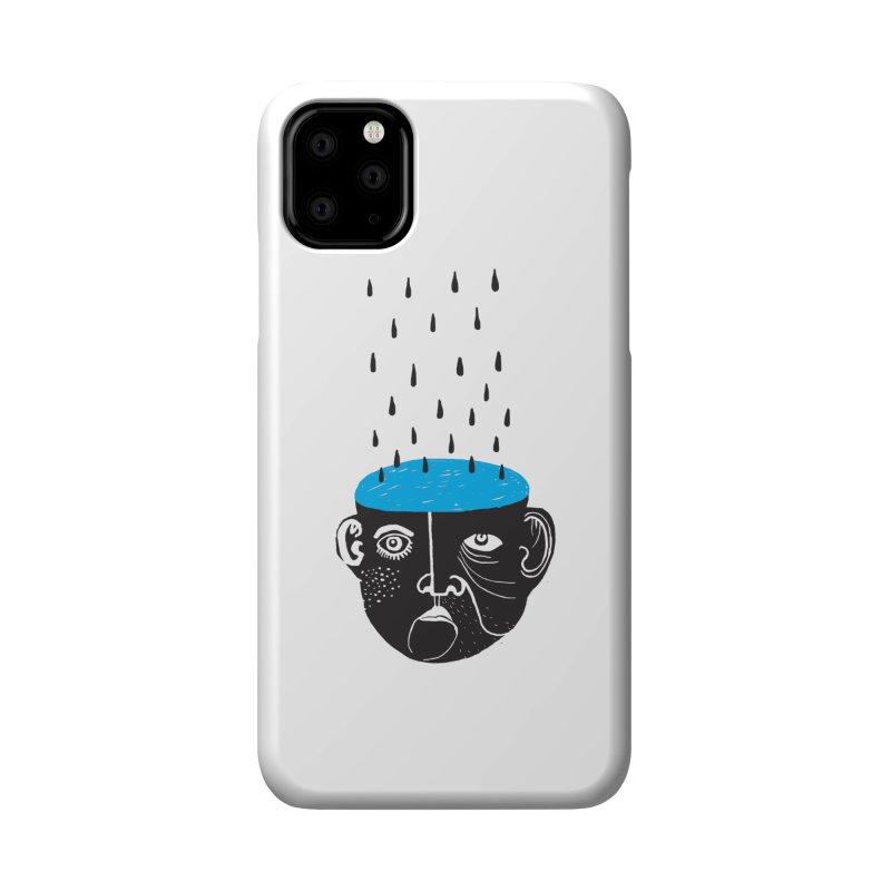 Rainy Brain Accessories Phone Case by Snezana Pupovic SNEP
