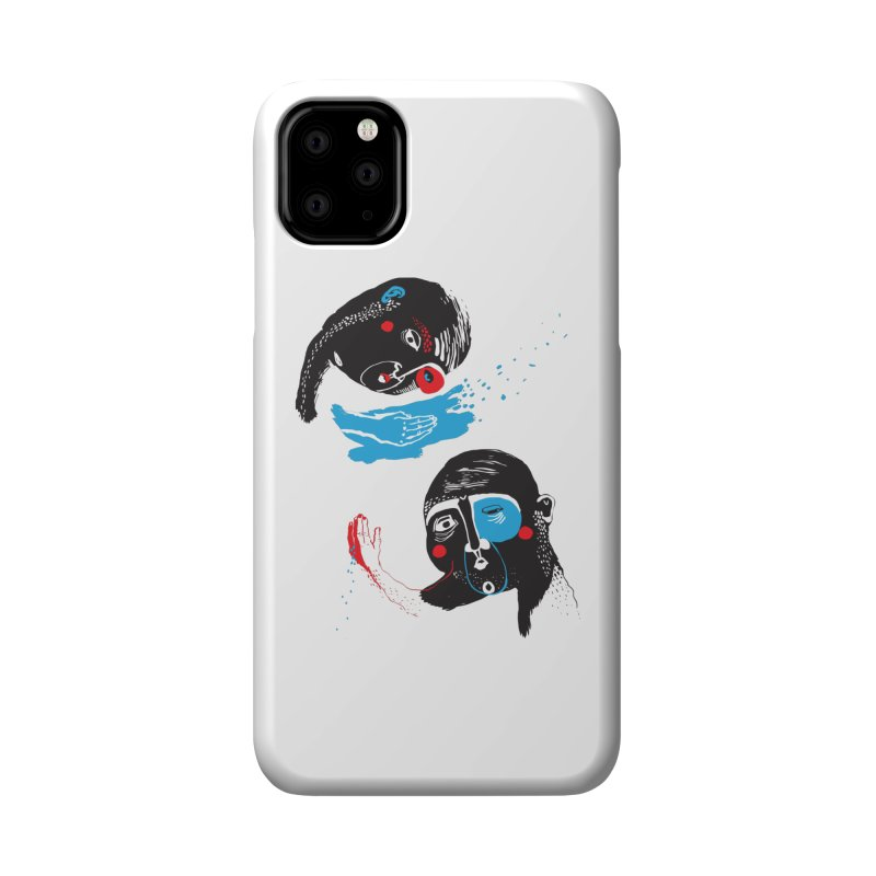 Two Souls Accessories Phone Case by Snezana Pupovic SNEP