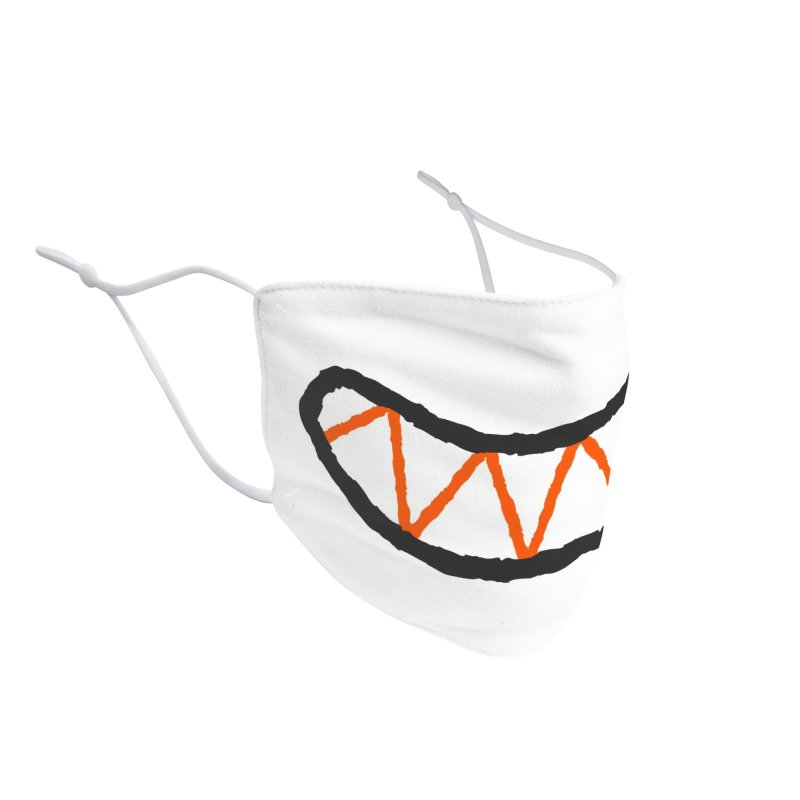 Happy Face Accessories Face Mask by Magnus Snickars' Artist Shop
