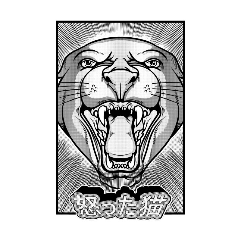 Angry Cat by magnussnickars's Artist Shop