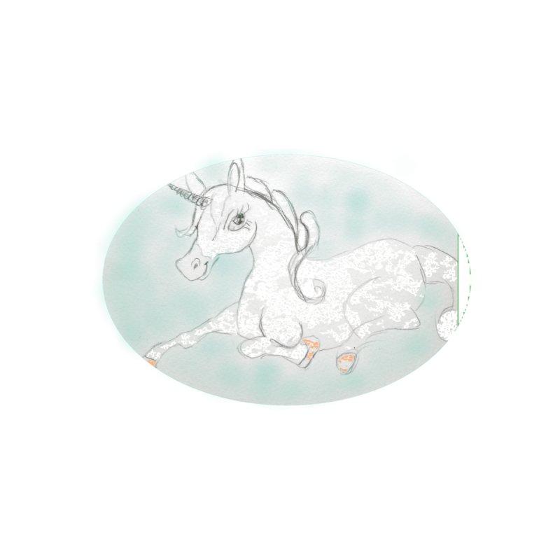 unicorn pony seated by Snodfer's Artist Shop