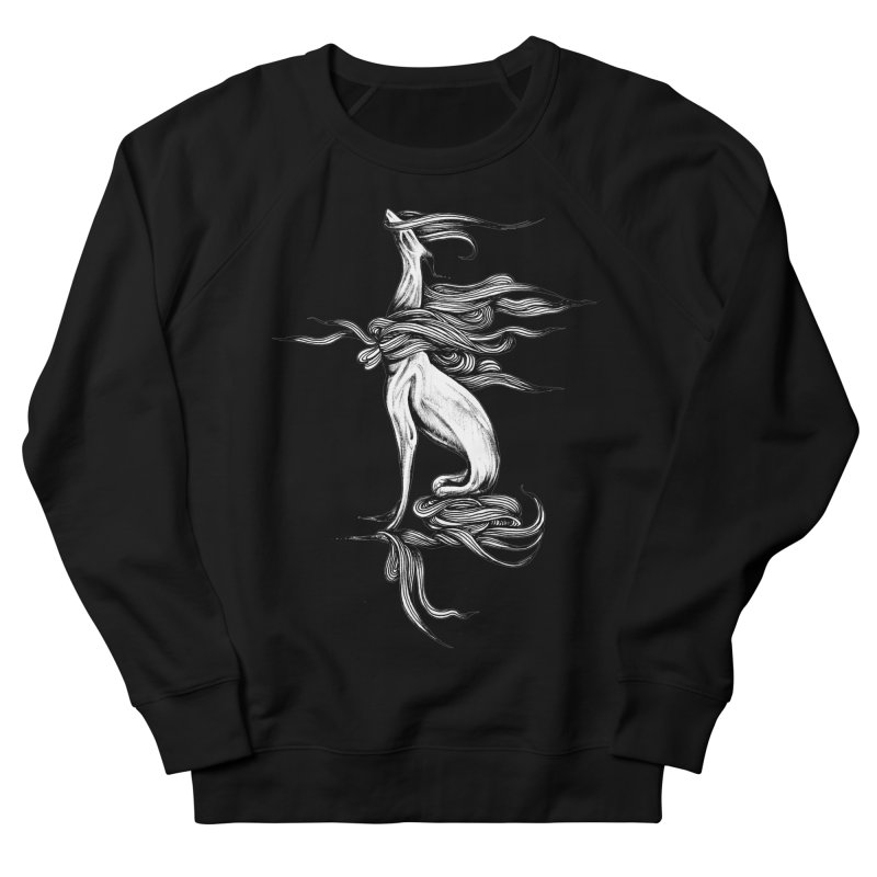 Upon The White Sky by Sarah Gaugler Men's French Terry Sweatshirt by Snow Tattoo