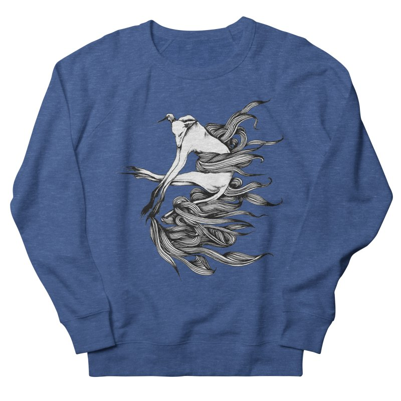 Upon The White Sky 2 by Sarah Gaugler Women's French Terry Sweatshirt by Snow Tattoo