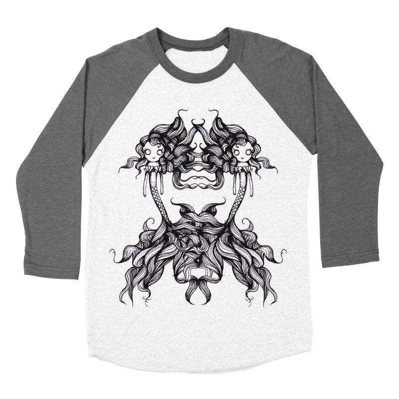 Subsea By Sarah Gaugler Women's Baseball Triblend Longsleeve T-Shirt by Snow Tattoo
