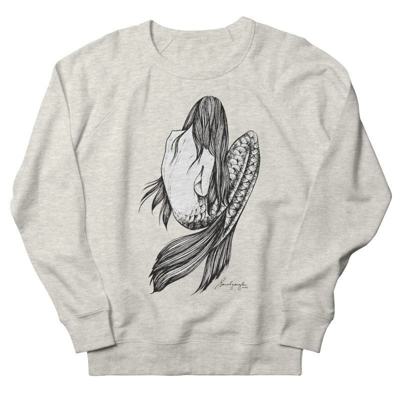 Subsea 5 By Sarah Gaugler Women's French Terry Sweatshirt by Snow Tattoo