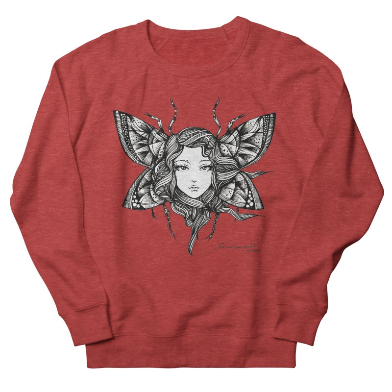 Butterfly By Sarah Gaugler Women's French Terry Sweatshirt by Snow Tattoo