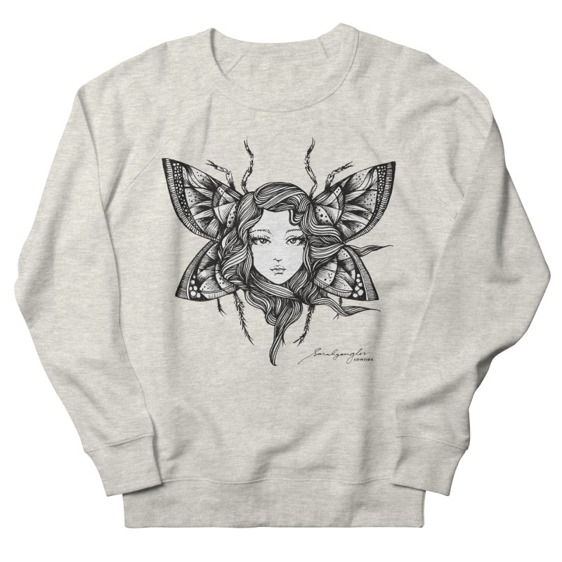Butterfly By Sarah Gaugler Men's French Terry Sweatshirt by Snow Tattoo