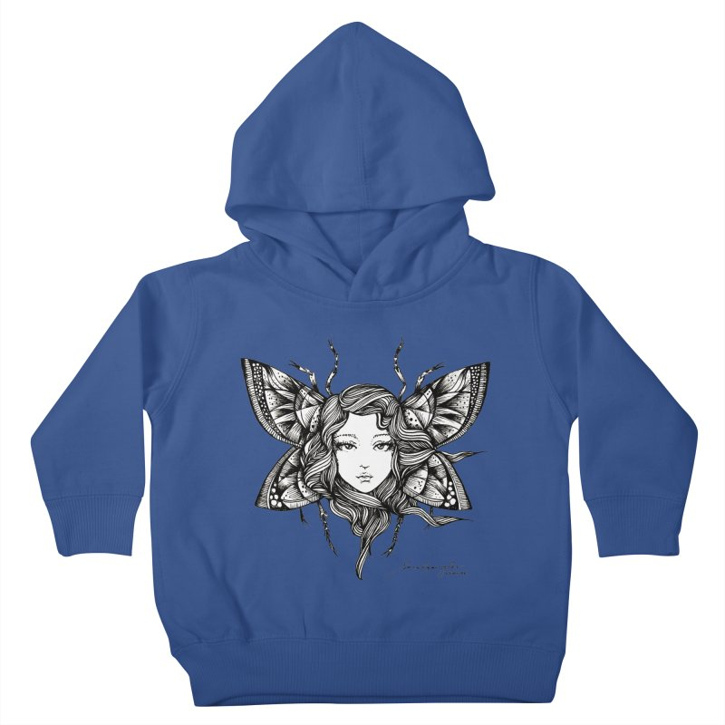 Butterfly By Sarah Gaugler Kids Toddler Pullover Hoody by Snow Tattoo