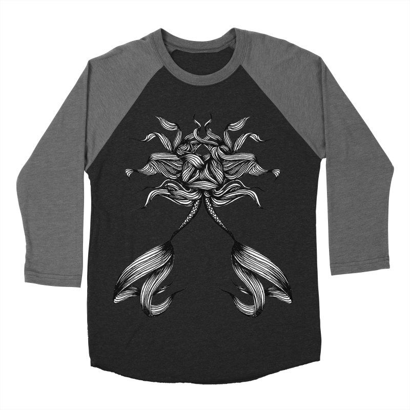 Subsea 3 By Sarah Gaugler Men's Baseball Triblend Longsleeve T-Shirt by Snow Tattoo