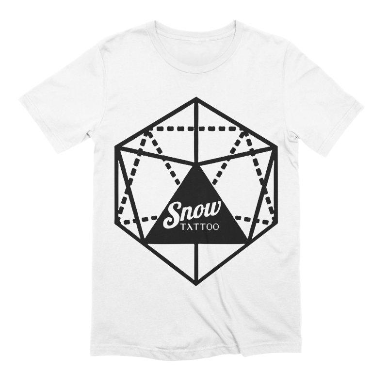 Snow Tattoo Men's Extra Soft T-Shirt by Snow Tattoo