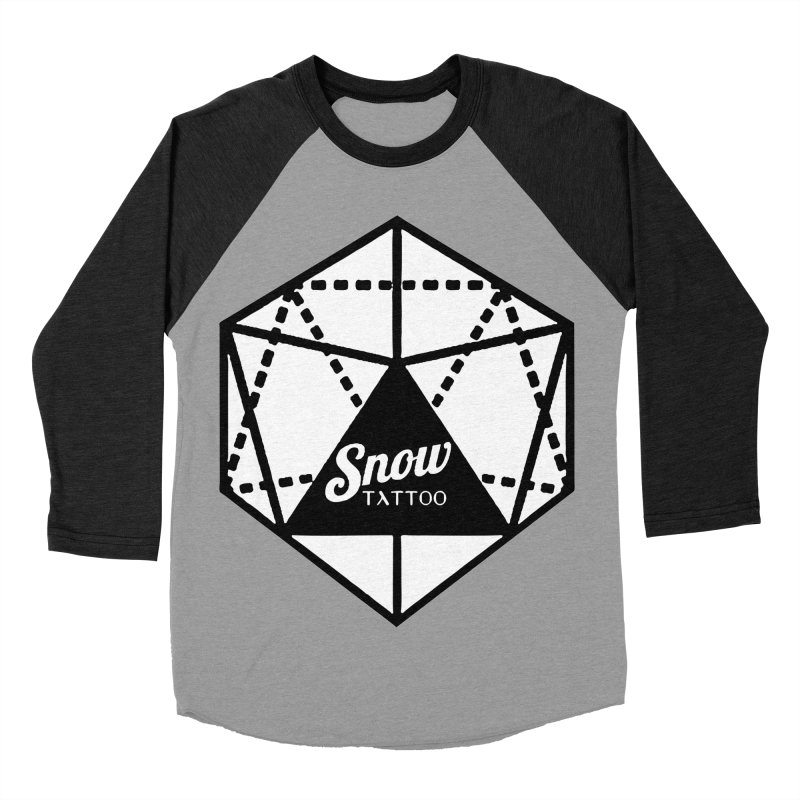 Snow Tattoo Men's Baseball Triblend Longsleeve T-Shirt by Snow Tattoo