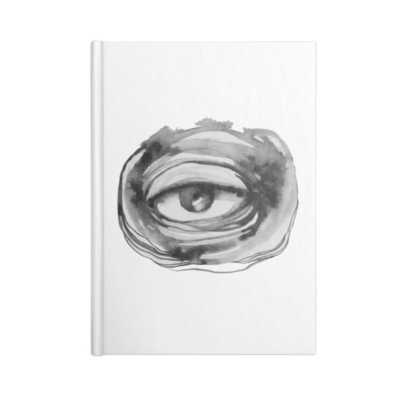 THE GRAND ARCHITECT OF THE UNIVERSE Accessories Blank Journal Notebook by Snow Tattoo