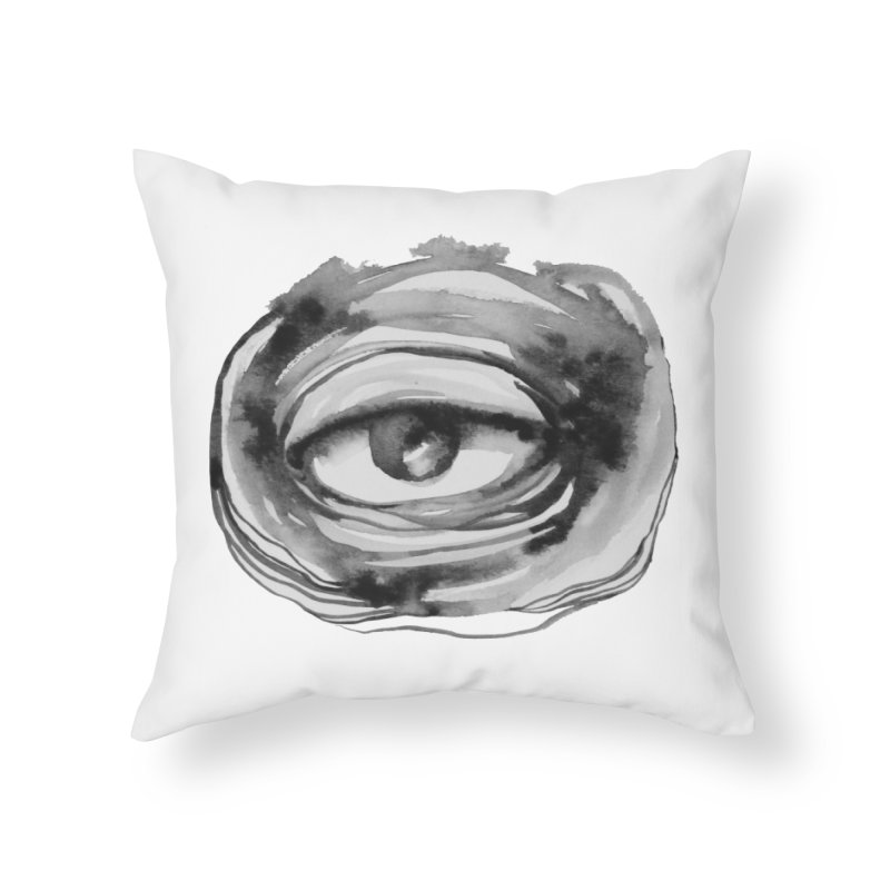 THE GRAND ARCHITECT OF THE UNIVERSE Home Throw Pillow by Snow Tattoo