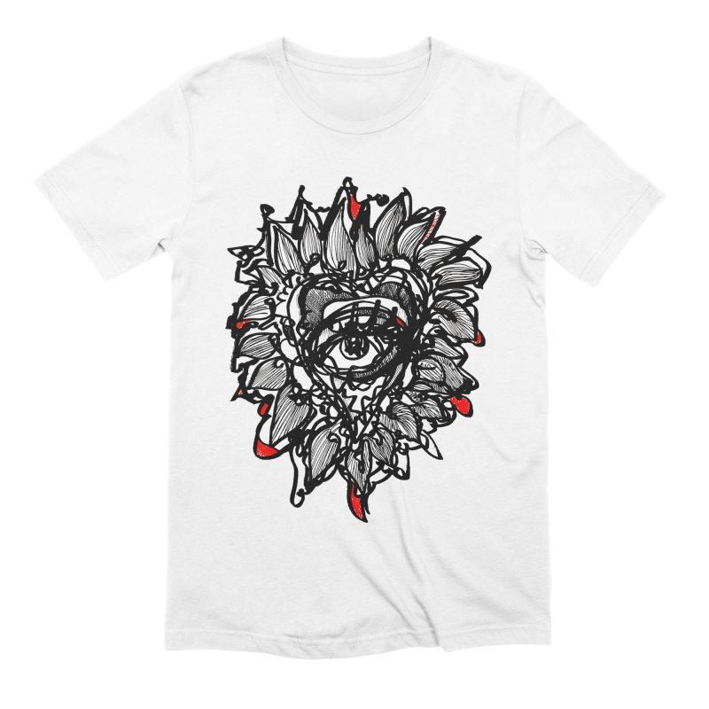 THE HEART SPEAKS OF TRUTH Men's Extra Soft T-Shirt by Snow Tattoo