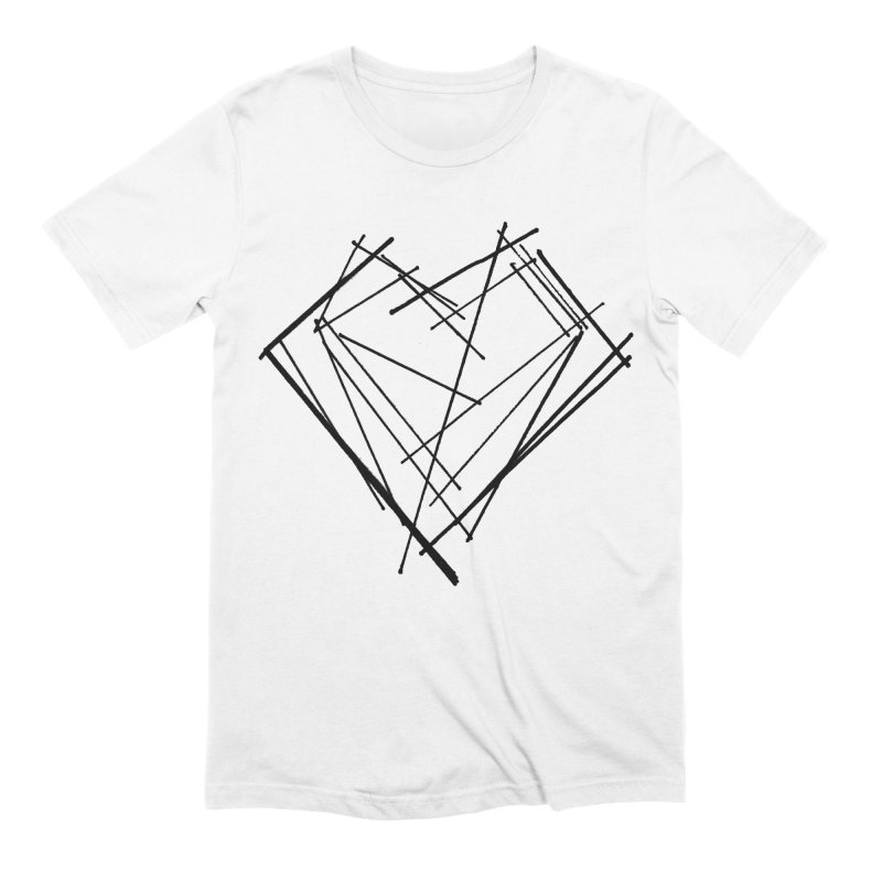 Heart 1 Men's Extra Soft T-Shirt by Snow Tattoo