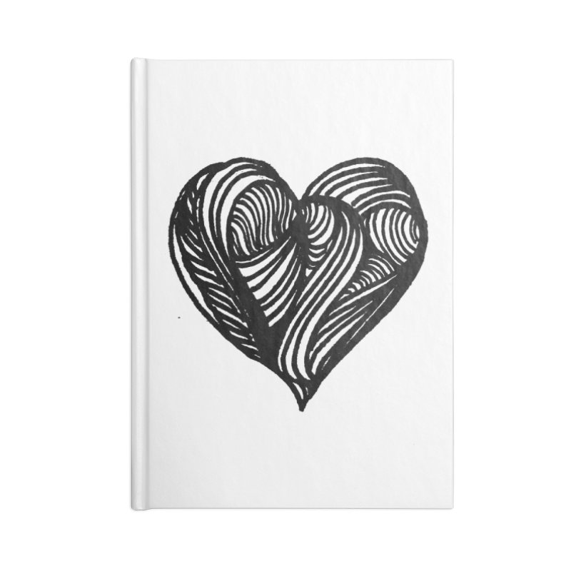 Hear 4 Accessories Notebook by Snow Tattoo