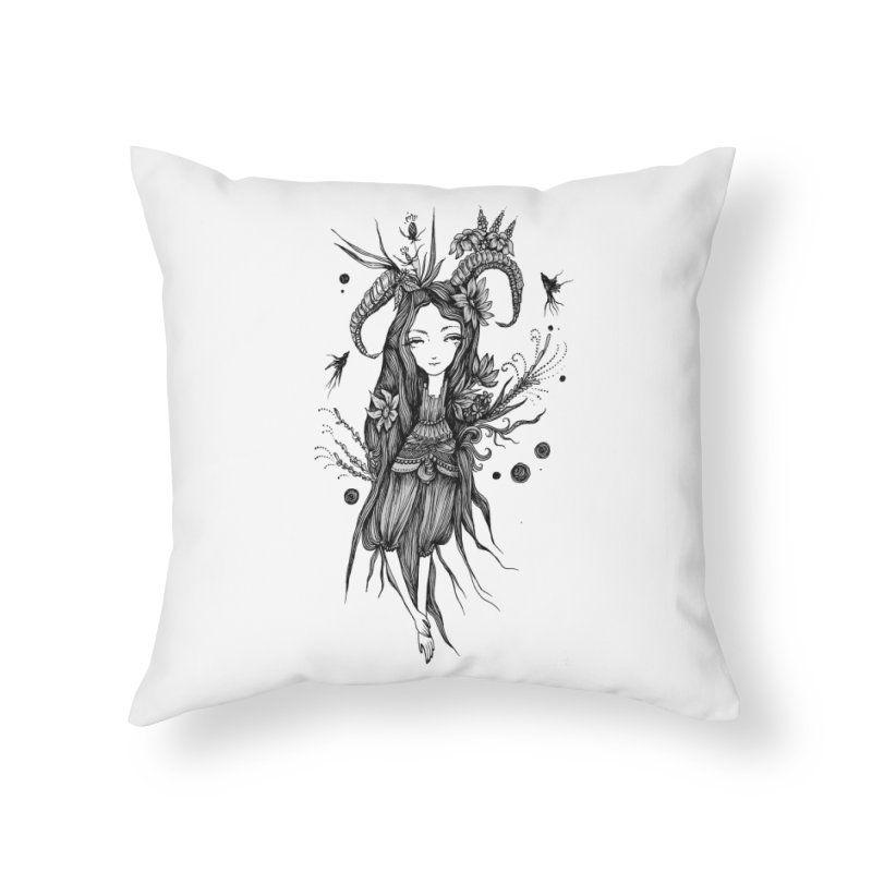 Aeterna Tranquillitas Home Throw Pillow by Snow Tattoo