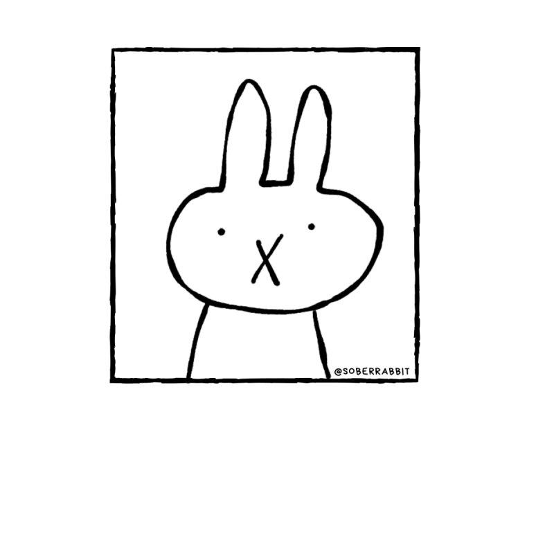 Sober Rabbit Women's T-Shirt by Sober Rabbit