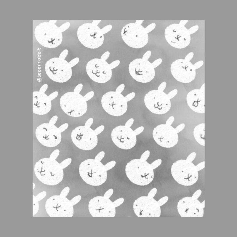Bunny Blanket Home Blanket by Sober Rabbit
