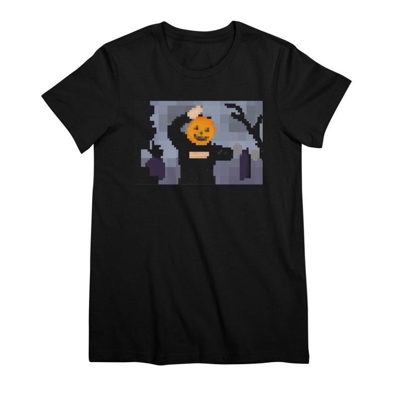 Pumpkin Dance Women's T-Shirt by Sober Rabbit
