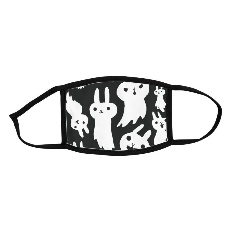 Bunny Ghosts Mask Accessories Face Mask by Sober Rabbit