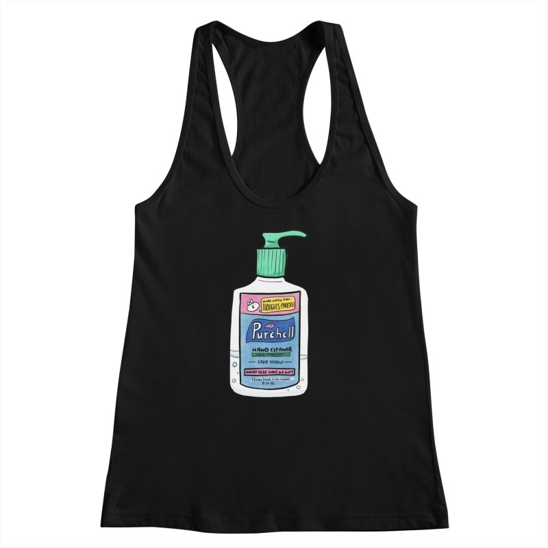 Purehell Sanitizer Shirt Women's Tank by Sober Rabbit