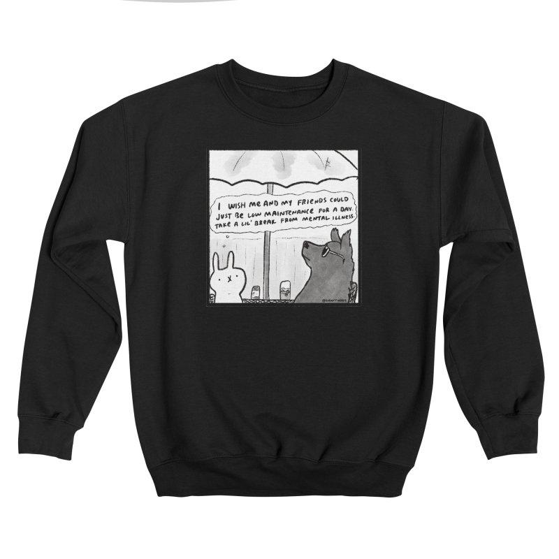 By Request   A Lil Break Men's Sweatshirt by Sober Rabbit