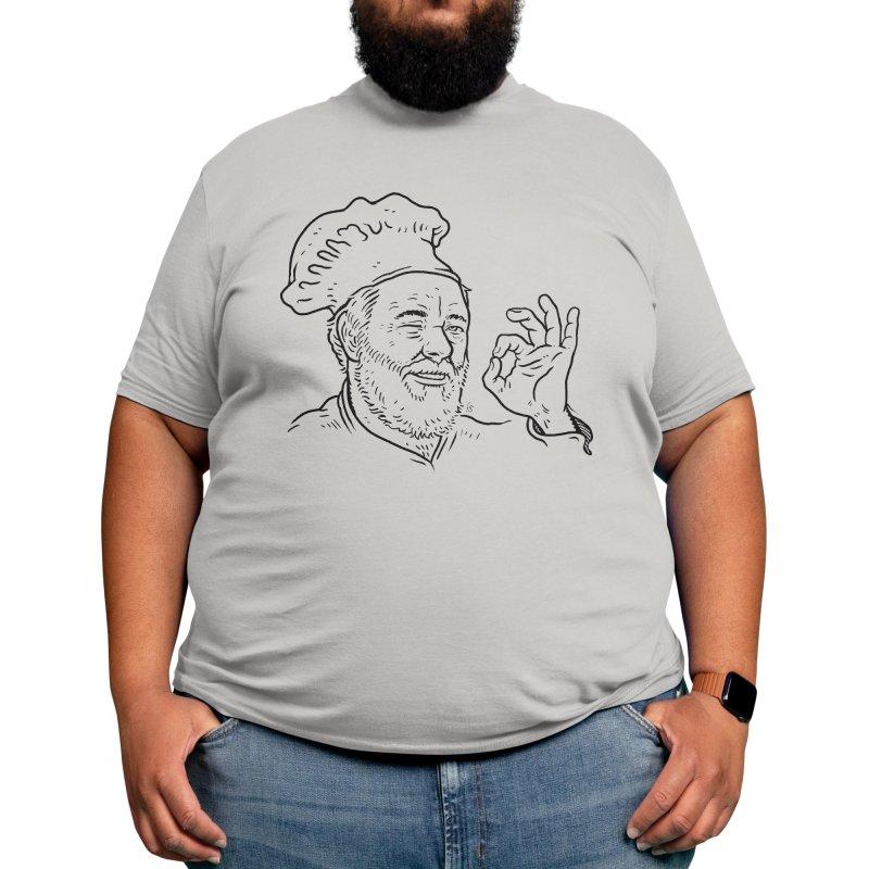 Papa Riker's Pizza Men's T-Shirt by Sobreiro's Shop