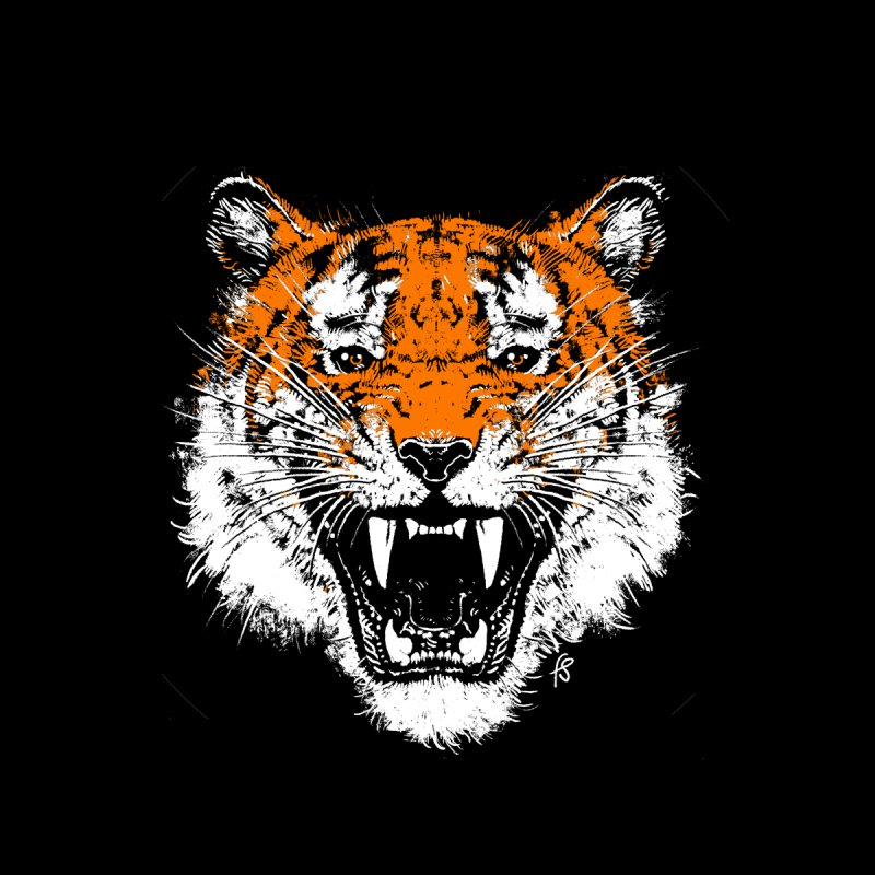 Tiger Men's T-Shirt by Sobreiro's Shop