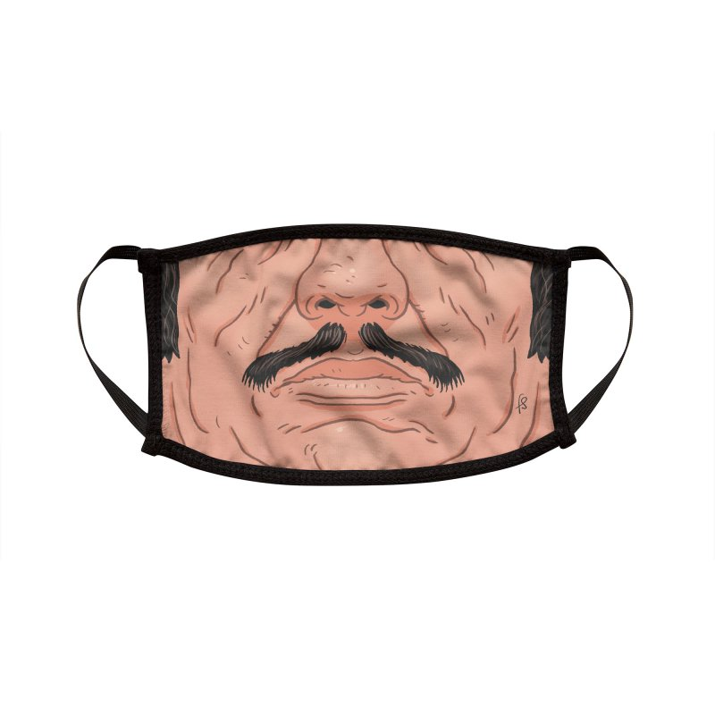 Action Mask - Bronson Accessories Face Mask by Sobreiro's Shop
