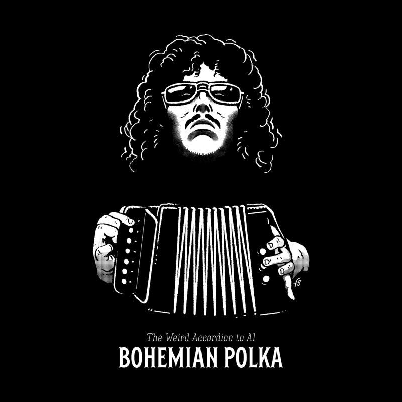 The Weird Accordion to Al - Bohemian Polka Men's T-Shirt by Sobreiro's Shop