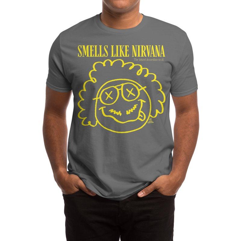 The Weird Accordion to Al - Smells like Nirvana Men's T-Shirt by Sobreiro's Shop