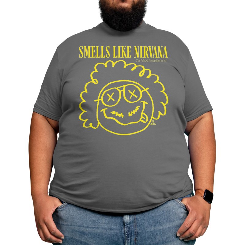 The Weird Accordion to Al - Smells like Nirvana Men's T-Shirt by Sobreiro's Shop