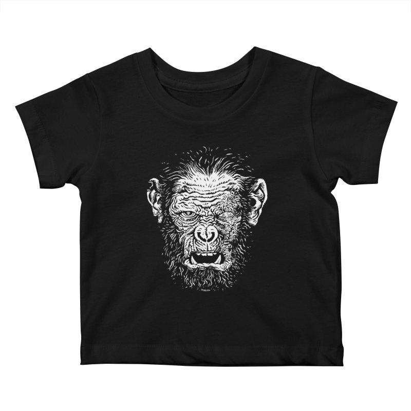 Chimp Kids Baby T-Shirt by Sobreiro's Shop