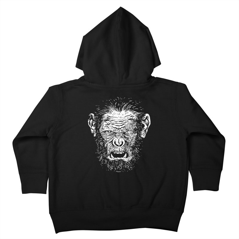 Chimp Kids Toddler Zip-Up Hoody by Sobreiro's Shop