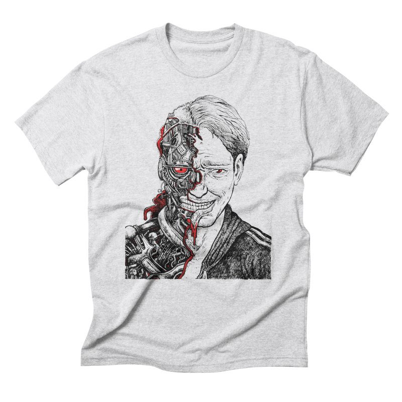 Cyborg Men's Triblend T-shirt by Sobreiro's Shop
