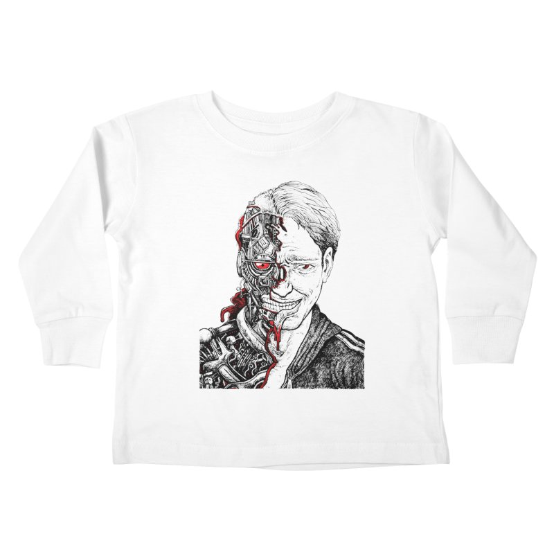 Cyborg Kids Toddler Longsleeve T-Shirt by Sobreiro's Shop