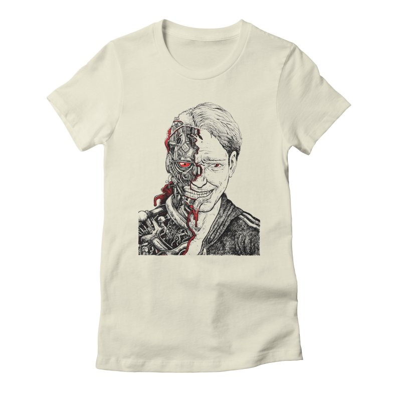 Cyborg Women's Fitted T-Shirt by Sobreiro's Shop