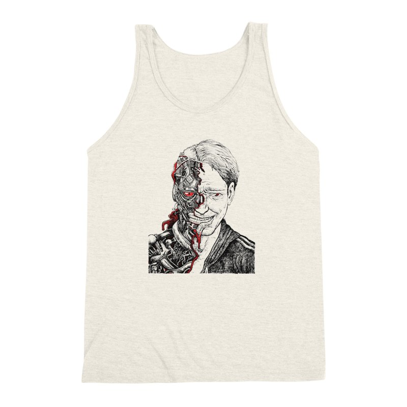 Cyborg Men's Triblend Tank by Sobreiro's Shop