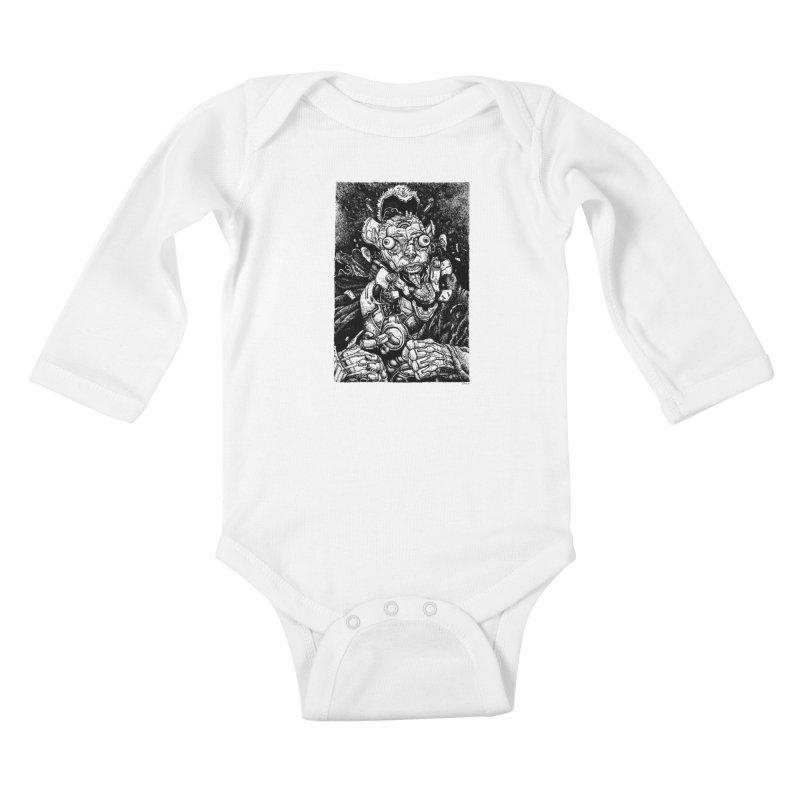 Sui Caedere Kids Baby Longsleeve Bodysuit by Sobreiro's Shop