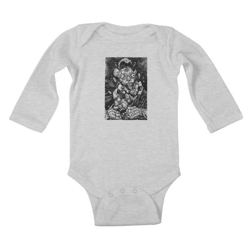 Sui Caedere Kids Baby Longsleeve Bodysuit by Sobreiro's Shop