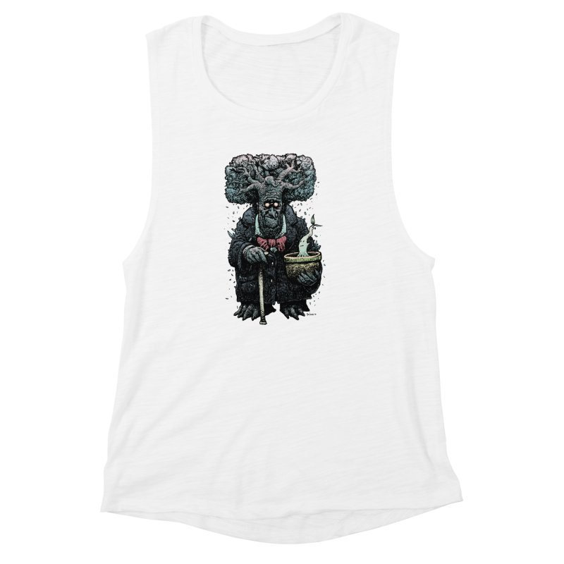 Grow Women's Muscle Tank by Sobreiro's Shop