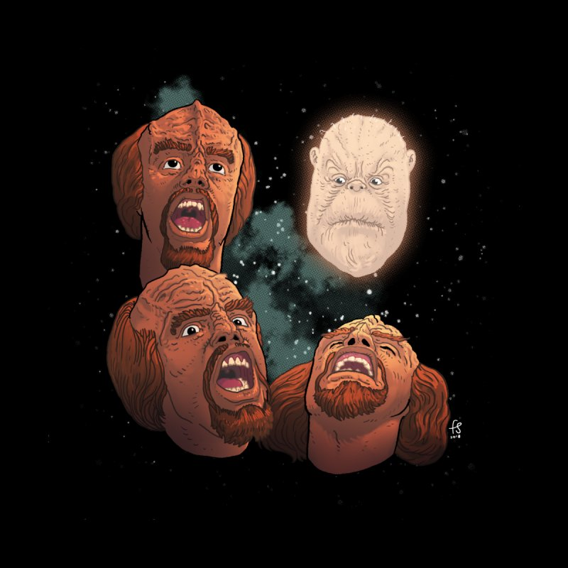 Three Worf Morn by Sobreiro's Shop