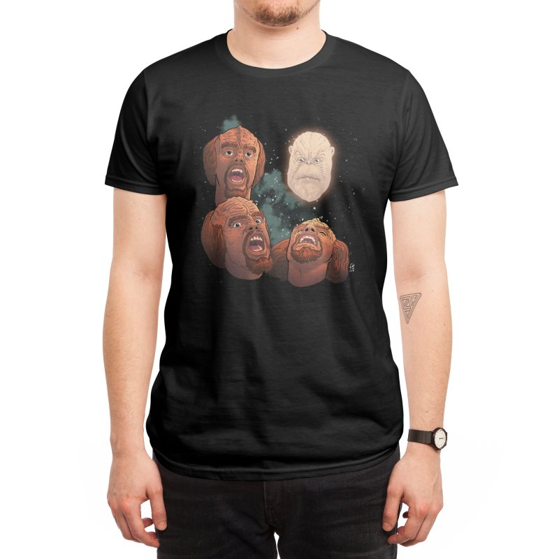 Three Worf Morn Men's T-Shirt by Sobreiro's Shop
