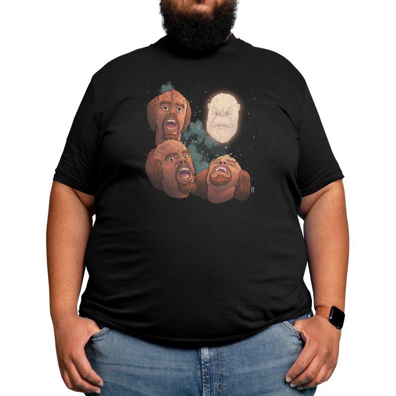 Three Worf Morn Men's T-Shirt by Sobreiro's Shop