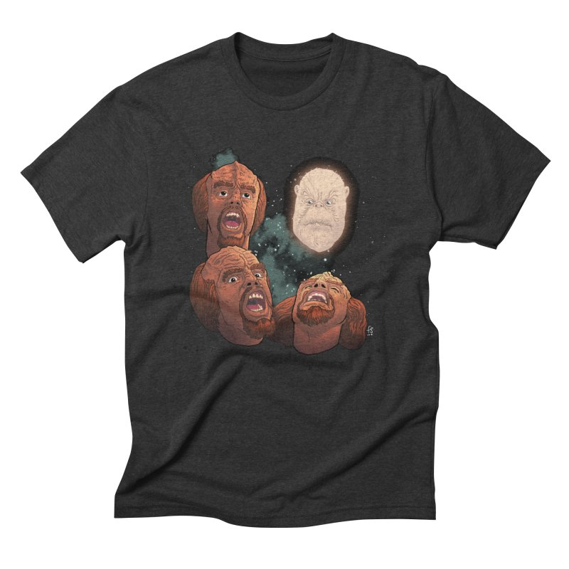 Three Worf Morn Men's Triblend T-Shirt by Sobreiro's Shop