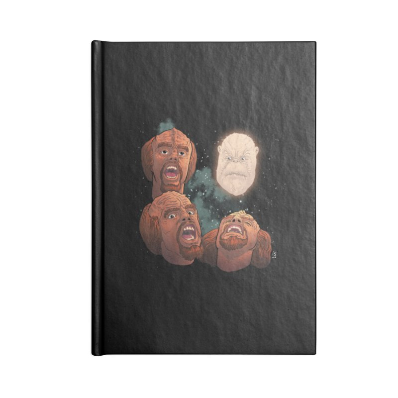 Three Worf Morn Accessories Notebook by Sobreiro's Shop