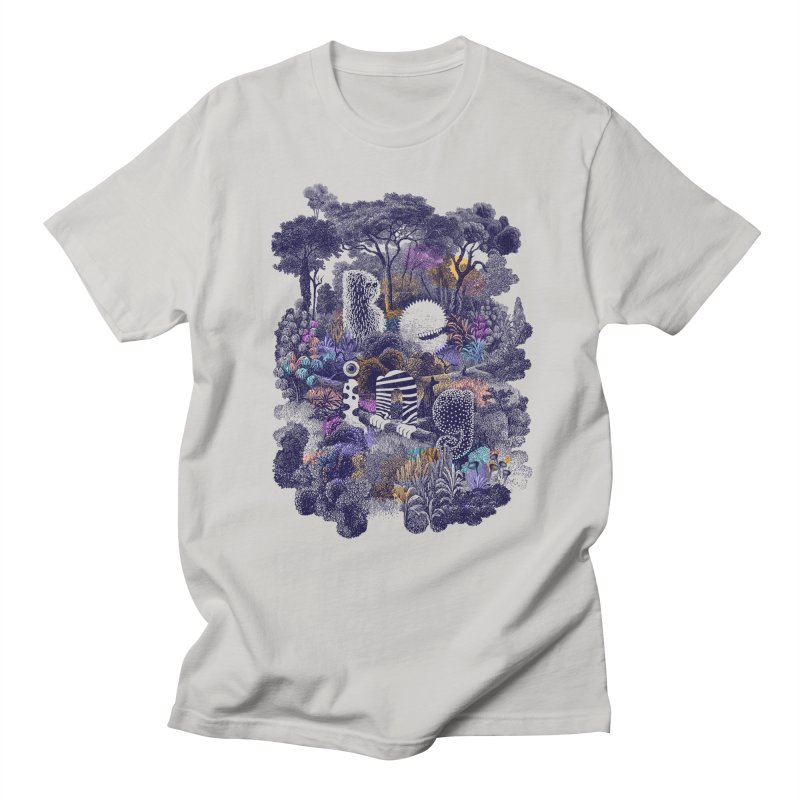 Biodiverse 2 Men's T-shirt by SocialFabrica Artist Shop
